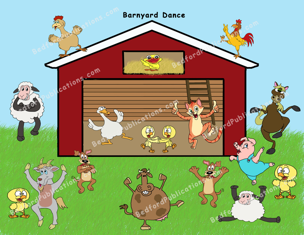 Dancing farm animals